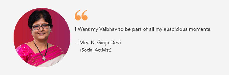 Vaibhav testimonial
