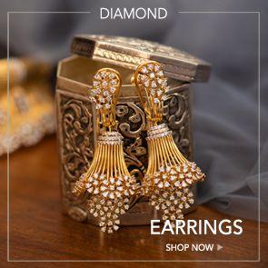 Diamond Earrings Designs Online