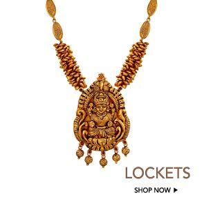 gold locket designs online